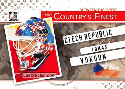 Tomas Vokoun (Their Country's Finest)