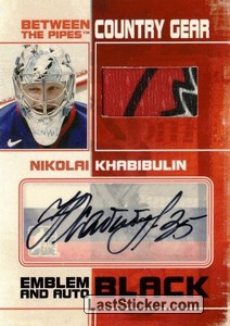 Nikolai Khabibulin (Country Gear Emblem&Auto)