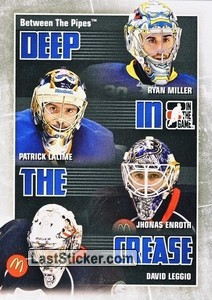 Miller / Lalime / Enroth / Leggio (Deep In The Crease)