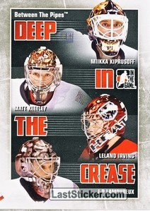 Kiprusoff / Keetley / Irving / Lamoureux (Deep In The Crease)
