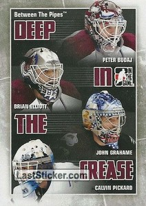 Budaj / Elliott / Grahame /  Pickard (Deep In The Crease)