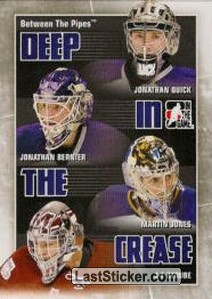 Quick / Bernier / Jones / Berube (Deep In The Crease)