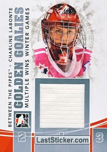 Charline Labonte (Golden Goalies)