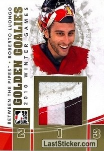 Roberto Luongo (Golden Goalies)