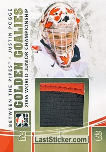 Justin Pogge (Golden Goalies)