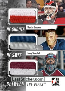 Martin Brodeur / Patrick Roy / Terry Sawchuk (He Shoots He Saves)