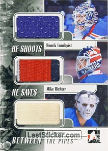 Henrik Lundqvist / Mike Richter / Ed Giacomin (He Shoots He Saves)
