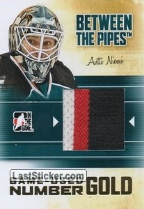 Antti Niemi (Game-Used Number)