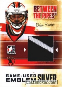 Brian Boucher (Game-Used Emblem)