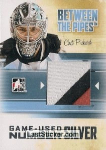 Chet Pickard (Game-Used Number)