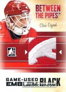 Chris Osgood (Game-Used Emblem)