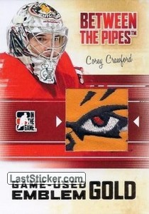 Corey Crawford (Game-Used Emblem)