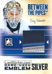 Cory Schneider (Game-Used Emblem)