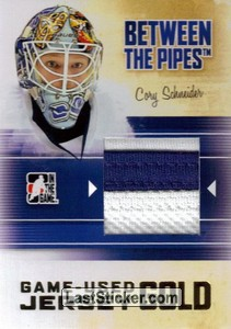 Cory Schneider (Game-Used Jersey)