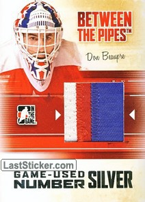 Don Beaupre (Game-Used Number)