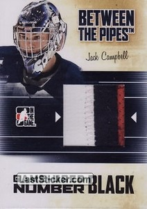 Jack Campbell (Game-Used Number)