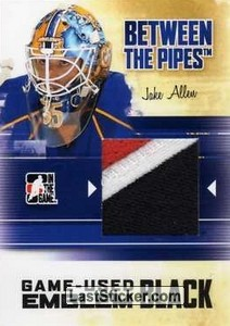 Jake Allen (Game-Used Emblem)