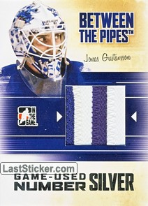Jonas Gustavsson (Game-Used Jersey)