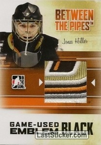 Jonas Hiller (Game-Used Emblem)