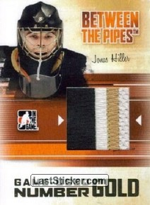 Jonas Hiller (Game-Used Number)