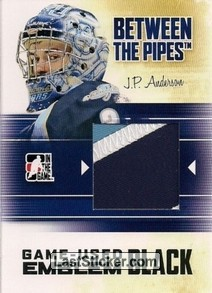 J.P. Anderson (Game-Used Emblem)