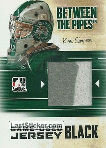 Kent Simpson (Game-Used Jersey)