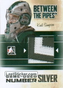Kent Simpson (Game-Used Number)