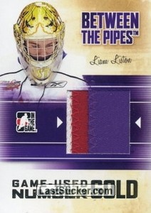 Liam Liston (Game-Used Number)
