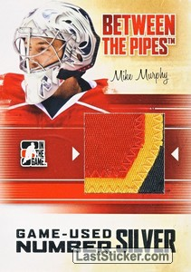 Mike Murphy (Game-Used Number)