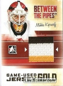 Miikka Kiprusoff (Game-Used Jersey)