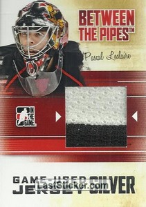 Pascal Leclaire (Game-Used Jersey)