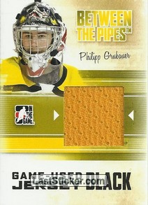 Philipp Grubauer (Game-Used Jersey)