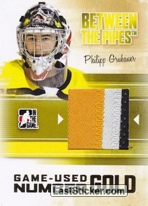 Philipp Grubauer (Game-Used Number)