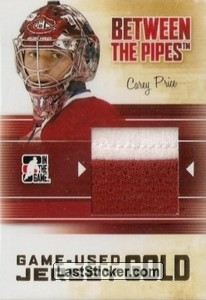 Carey Price (Game-Used Jersey)