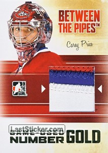 Carey Price (Game-Used Number)