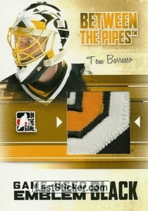Tom Barrasso (Game-Used Emblem)