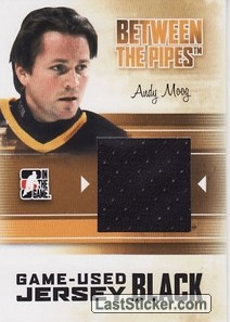 Andy Moog (Game-Used Jersey)