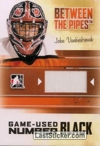 John Vanbiesbrouck (Game-Used Number)