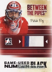 Patrick Roy (Game-Used Number)