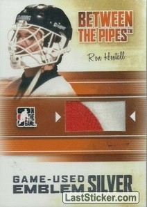 Ron Hextall (Game-Used Emblem)