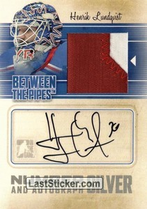 Henrik Lundqvist (Game-Used Number&Auto)