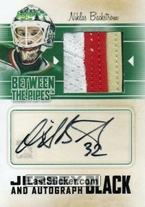 Niklas Backstrom (Game-Used Jersey&Auto)