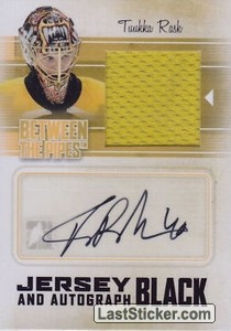 Tuukka Rask (Game-Used Jersey&Auto)
