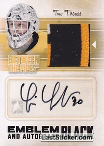 Tim Thomas (Game-Used Emblem&Auto)