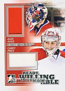 Carey Price / Alex Auld (Ready, Willing & Able)