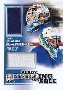 Roberto Luongo / Cory Schneider (Ready, Willing & Able)