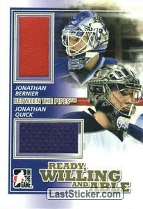 Jonathan Quick / Jonathan Bernier (Ready, Willing & Able)