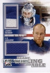 Jean-Sebastien Giguere / James Reimer (Ready, Willing & Able)