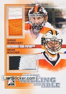 Brian Boucher / Sergei Bobrovsky (Ready, Willing & Able)