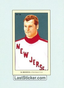 Martin Brodeur (100 Years of Hockey Card Collecting)